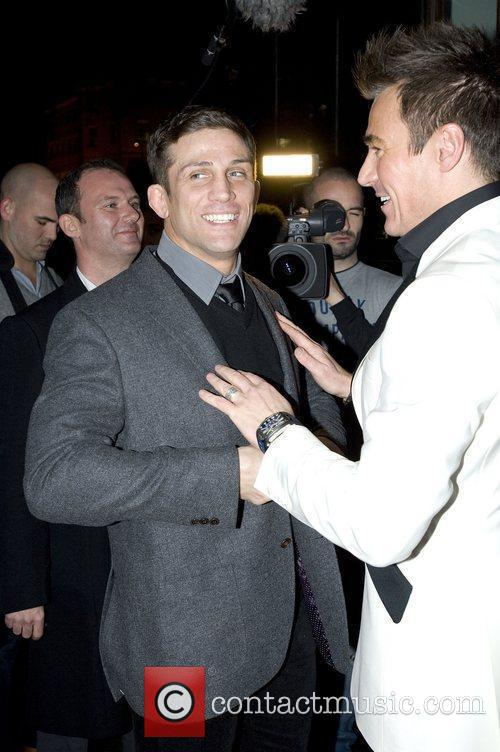Alex Reid and Stephen Williams,  at the...