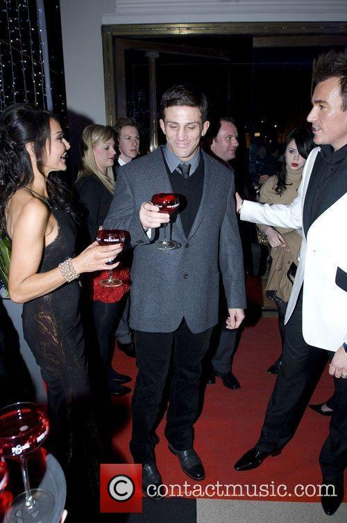 Lizzie Cundy and Alex Reid and Stephen Williams,...