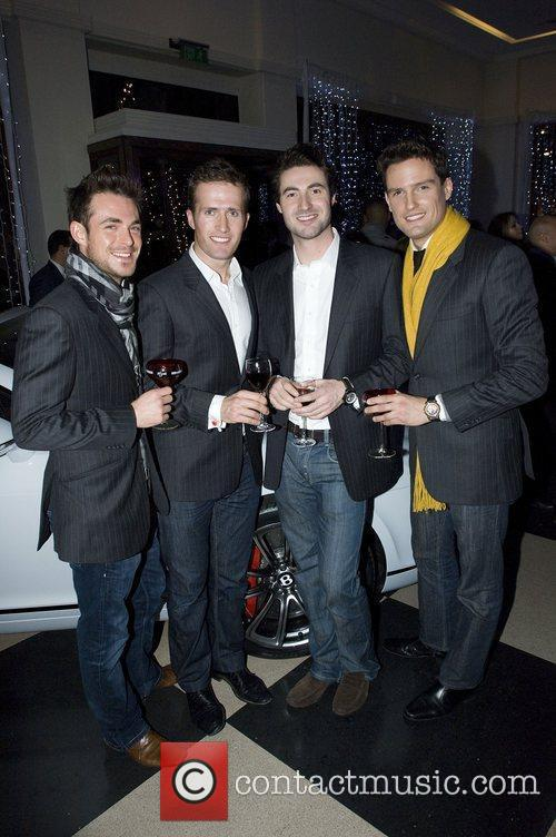 Ollie Baines, Humphrey Berney, Jules Knight and Stephen...