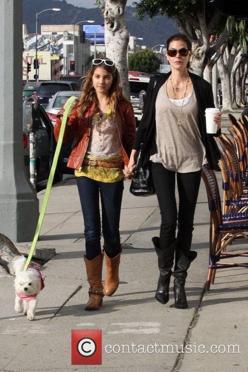 Teri Hatcher and daughter Emerson Rose 9