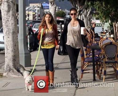 Teri Hatcher and daughter Emerson Rose 7
