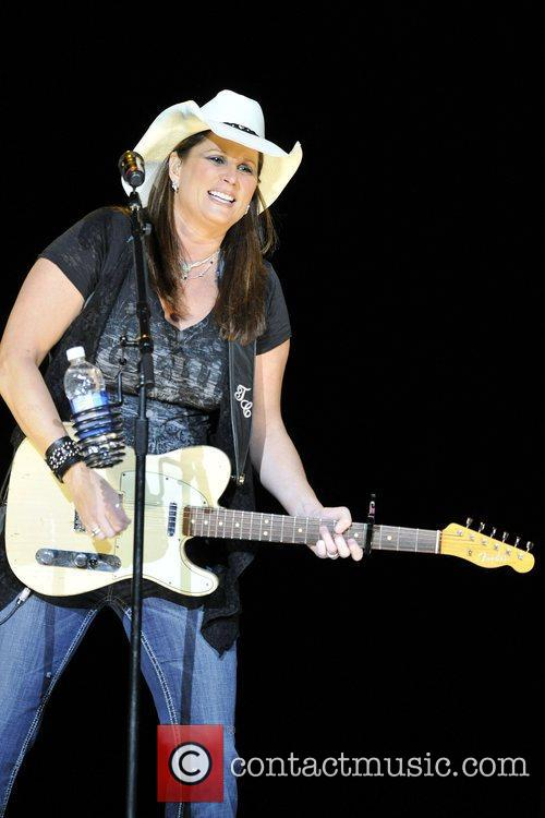 Terri Clark  performing live on stage at...