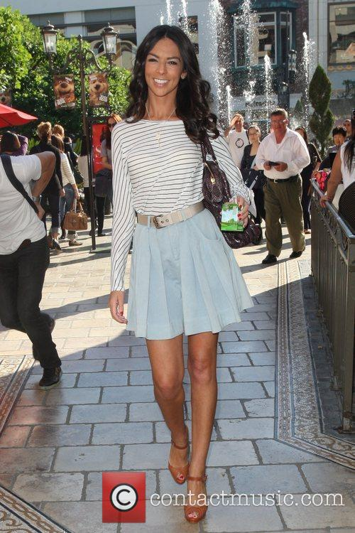 Terri Seymour out shopping at the Grove in...