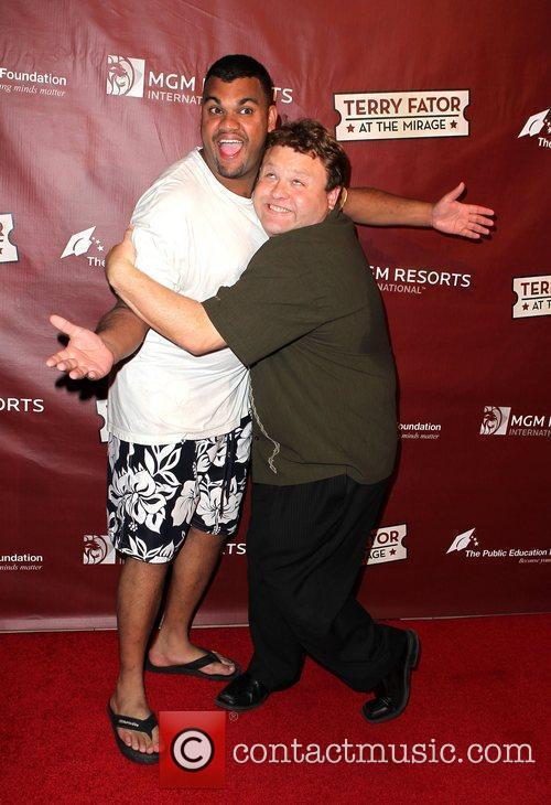 Frank Caliendo and Adam B.