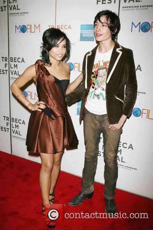 Zoe Kravitz, Ezra Miller 9th Annual Tribeca Film...