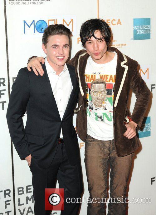 Ezra Miller and Jesse McCartney 9th Annual Tribeca...