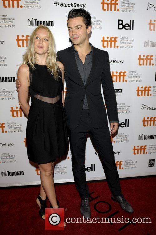 Dominic Cooper and female guest  The 35th...