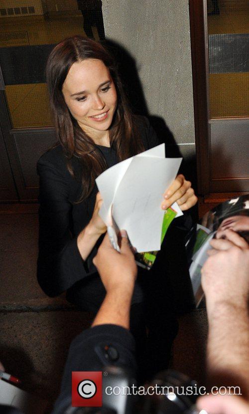 Ellen Page at the 35th Toronto International Film...