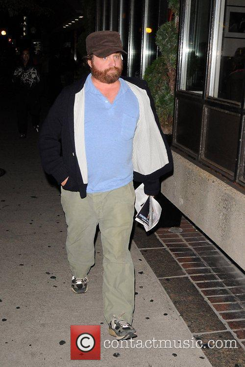 Zack Galifianakis out and about ahead of the...