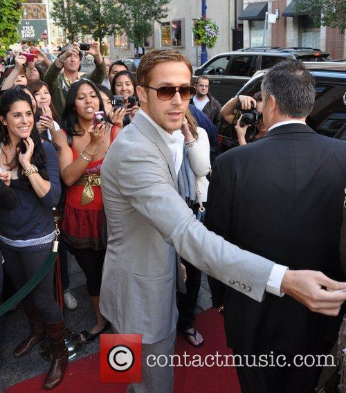 Ryan Gosling and Leaves 1