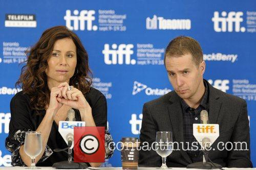 Minnie Driver and Sam Rockwell 2