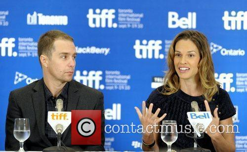 Sam Rockwell and Hilary Swank  The 35th...