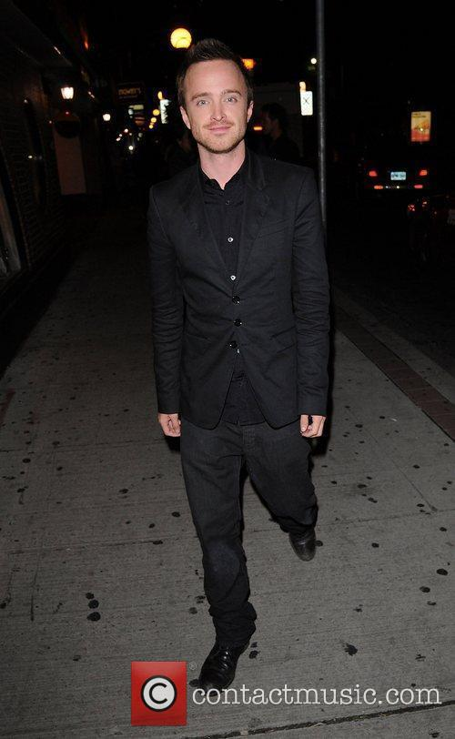 Aaron Paul out and about during the 35th...