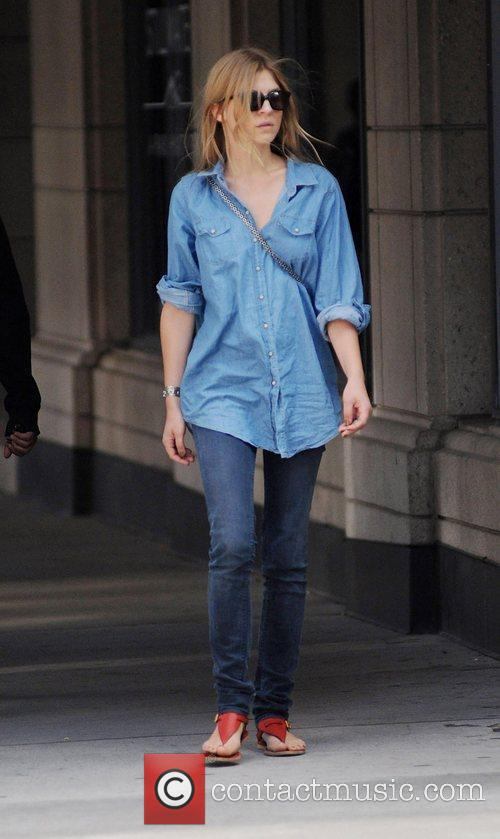 Clemence Poesy out and about during the 35th...
