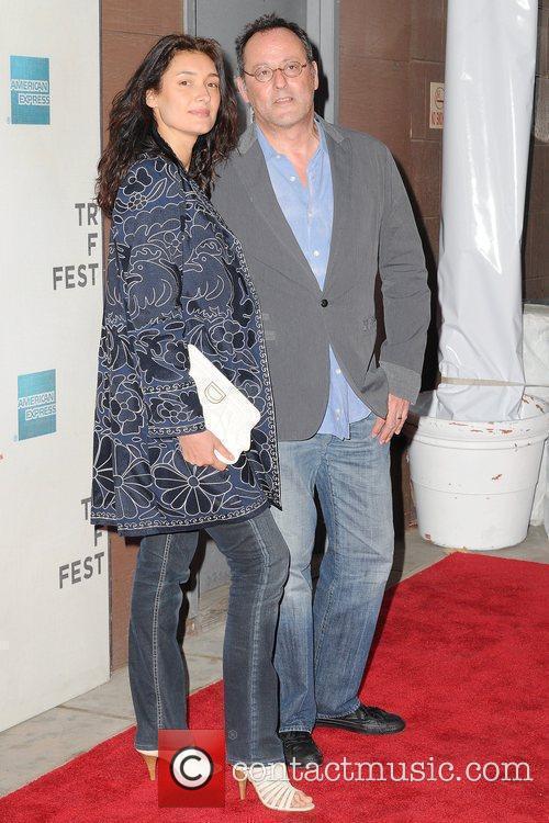 Jean Reno and Zofia Borucka 9th Annual Tribeca...