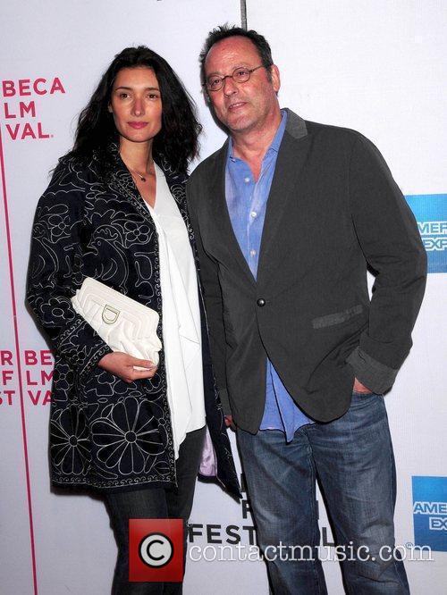 Jean Reno and guest 9th Annual Tribeca Film...