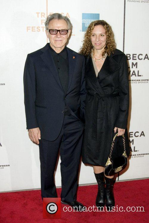 Harvey Keitel and His Wife Daphna Kastner