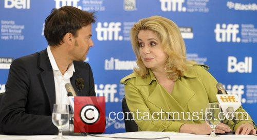 Francois Ozon and Judith Godreche The 35th Toronto...