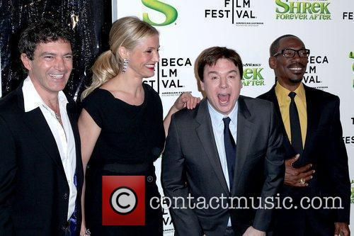 Antonio Banderas, Cameron Diaz and Mike Myers 2