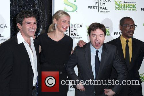 Antonio Banderas, Cameron Diaz and Mike Myers 3