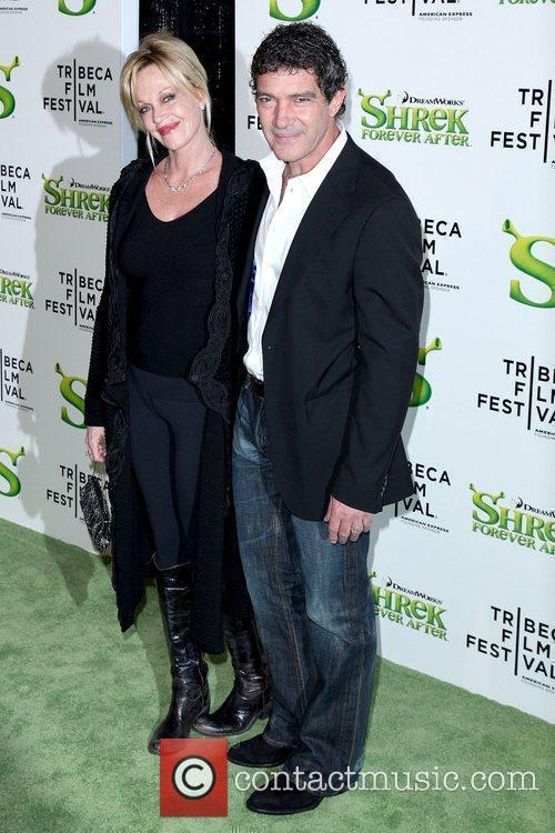 Melanie Griffith and Antonio Banderas 4