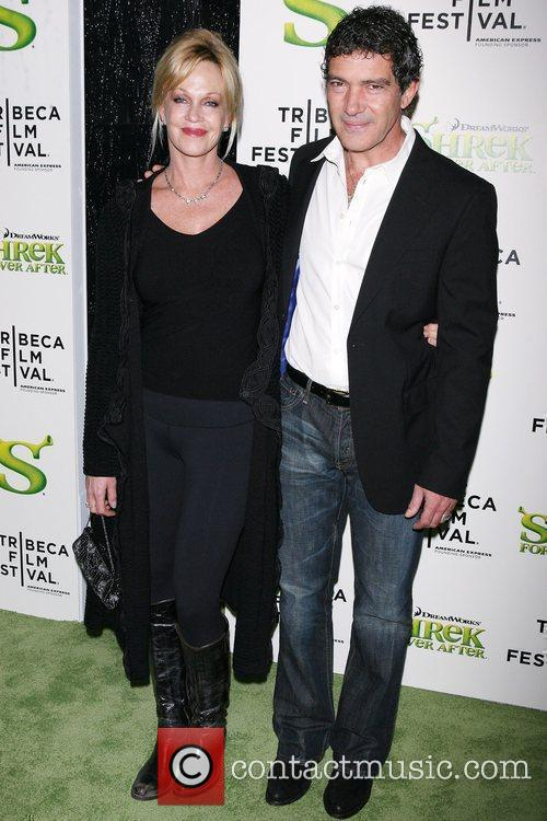 Melanie Griffith, Antonio Banderas, Tribeca Film Festival