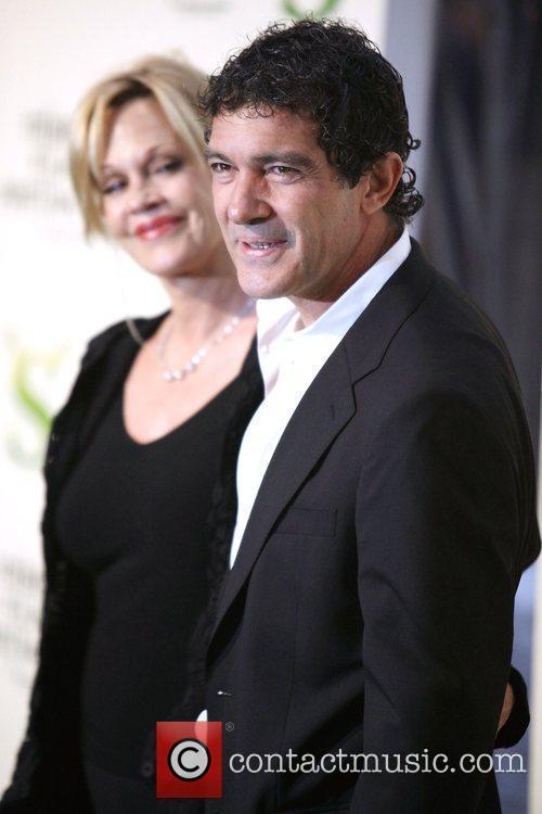 Melanie Griffith, Antonio Banderas Premiere of 'Shrek Forever...