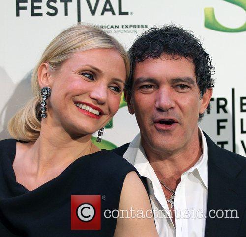 Cameron Diaz, Antonio Banderas Premiere of 'Shrek Forever...
