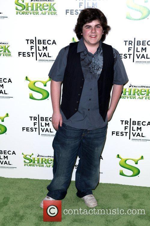 Josh Flitter Premiere of 'Shrek Forever After' during...