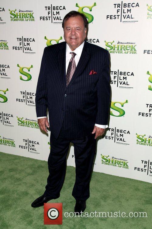 Paul Sorvino Premiere of 'Shrek Forever After' during...