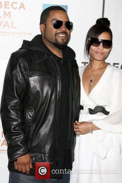 Ice Cube and Kimberly Woodruff 9th Annual Tribeca...