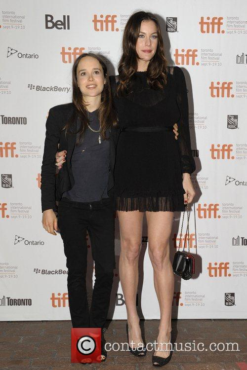 Ellen Page and Liv Tyler 3