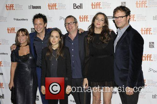 Miranda Bailey, Ellen Page, James Gunn, Liv Tyler, Rainn Wilson and Ted Hope