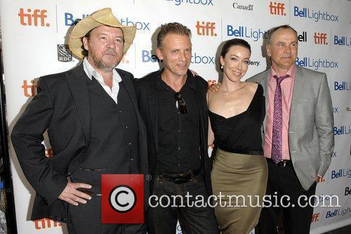 Bruce Mcdonald, Callum Keith Rennie, Daniel Macivor and Molly Parker 3