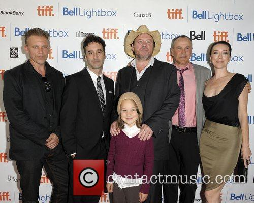 Callum Keith Rennie, Bruce Mcdonald, Daniel Macivor, Don Mckellar and Molly Parker 4