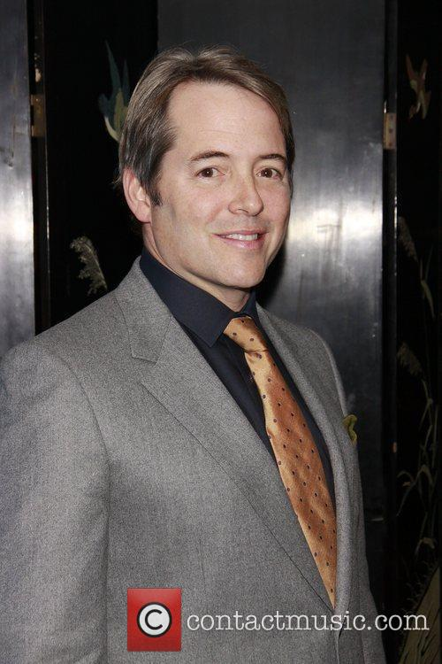 Matthew Broderick  The opening night after party...