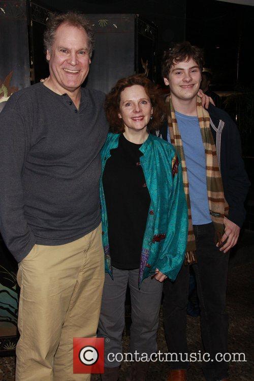 Jay O. Sanders, Maryann Plunkett and their son...