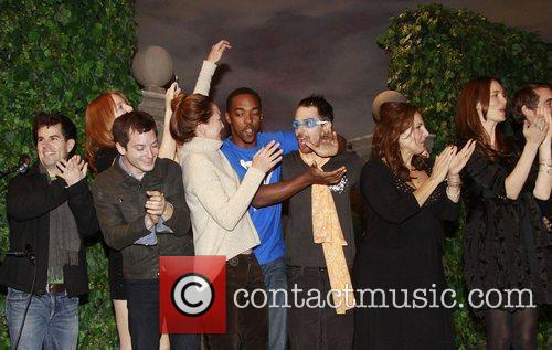 Elijah Wood, Alicia Witt, Anthony Mackie, Julie White, Kathy Najimy, Saffron Burrows and Sam Rockwell 1