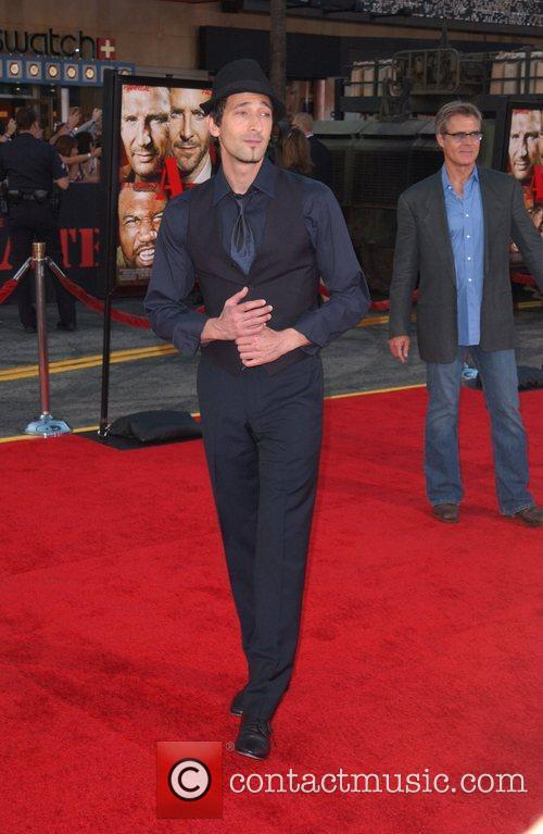 Adrien Brody The A-Team Los Angeles premiere at...