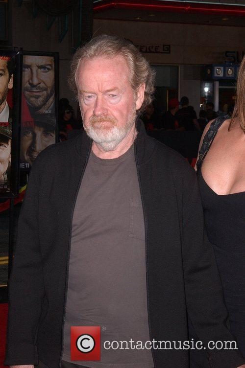 Director Ridley Scott The A-Team Los Angeles premiere...