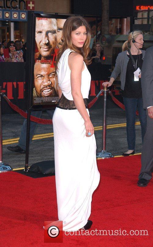 Jessica Biel The A-Team Los Angeles premiere at...