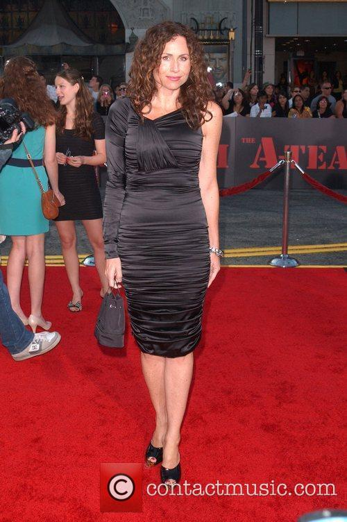 Minnie Driver The A-Team Los Angeles premiere at...