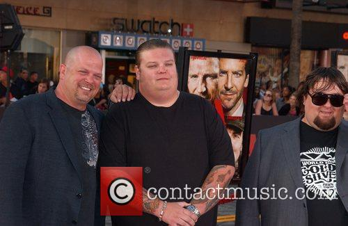 Rick Harrison, Corey Harrison, and Austin 'Chumlee' Russell...