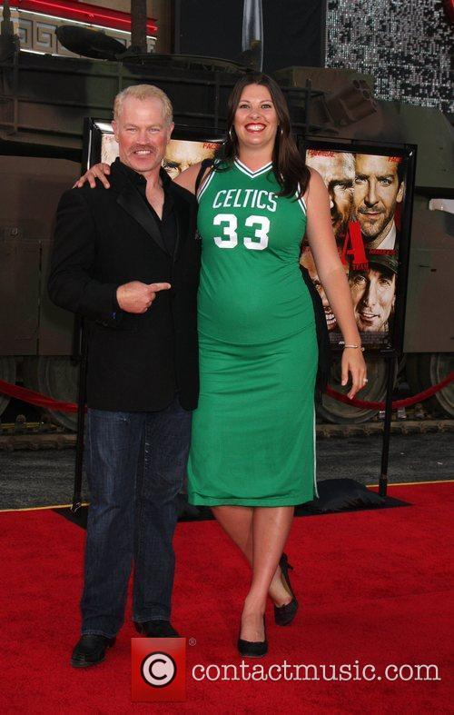 Neal McDonough with his wife Reve The A-Team...