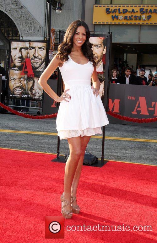 Terri Seymour The A-Team Los Angeles premiere at...