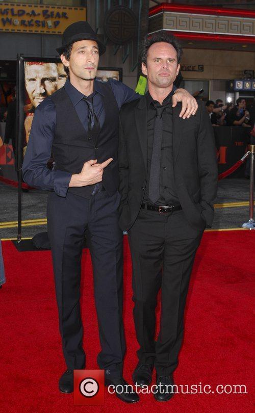 Adrien Brody and Walton Goggins The A-Team Los...