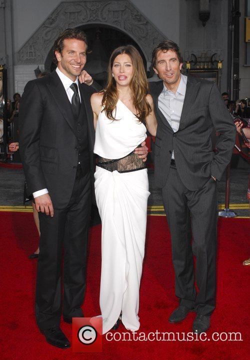 Bradley Cooper, Jessica Biel and Sharlto Copley The...