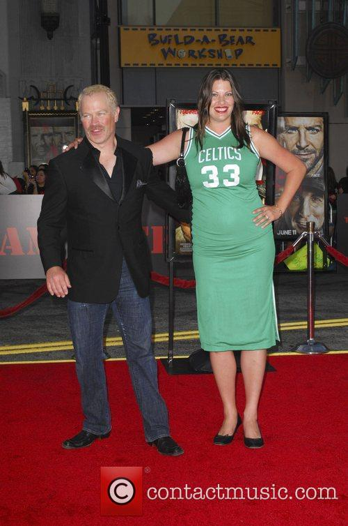 Neal McDonough and wife The A-Team Los Angeles...