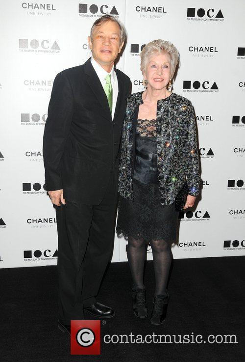 Michael York and wife Patricia McCallum MOCA's Annual...
