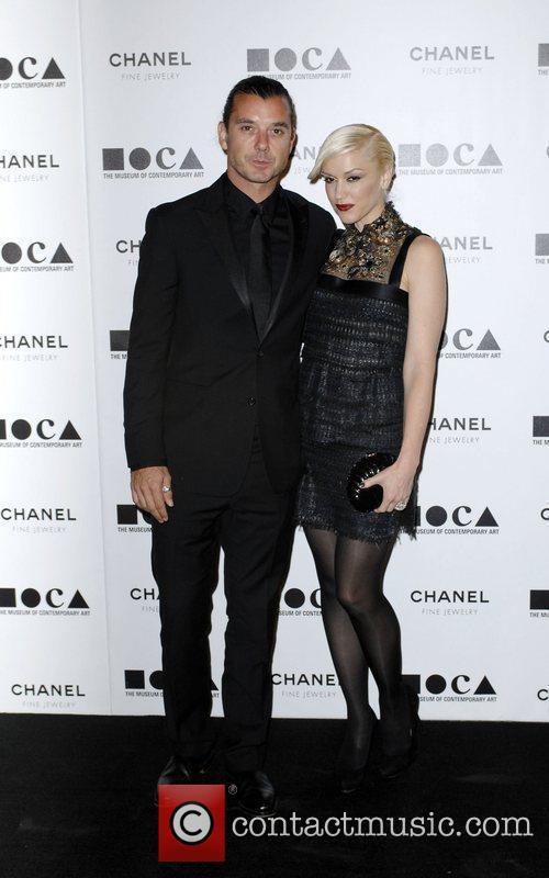 Gwen Stefani, Gavin Rossdale  MOCA's Annual Gala...